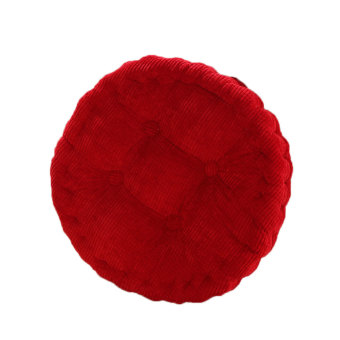 BolehDeals Round Cotton Chair Seat Cushion Pad Tatami Cushion for Home Car Office Red - Intl