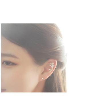 Bông tai Trái tim nhỏ bạc S925 Italia Mini Jewelry LDE0108