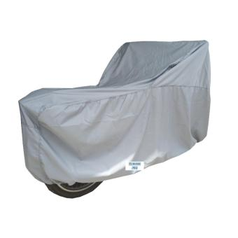 Áo trùm bảo vệ xe máy ( màu xám nhạt)