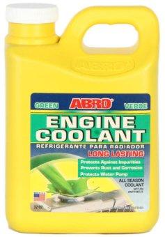 Nước Làm Mát động cơ ô tô xe máy Abro Coolant (Xanh)