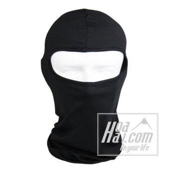 Mũ trùm đầu ninja hở mắt đa năng đi phượt HOAHAI.COM (đen)