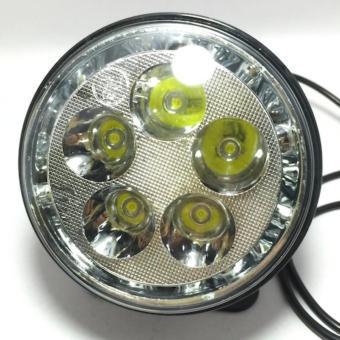 Đèn Fa led Thanh Khang trợ sáng T5 ánh sáng trắng vòng angel xanh dương đẹp lung linh gắn được ô tô và xe máy
