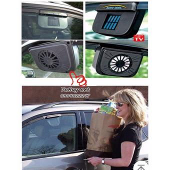 Quạt thông gió ô tô Auto Fan (Chạy bằng năng lượng mặt trời)