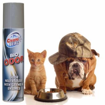 Xịt Khử Mùi Sinh Học(nhập ngoại) cho chó mèo, thú cưng, xe hơi, nhà ở, phòng làm việc: CLEANS BERG BIO ODOR