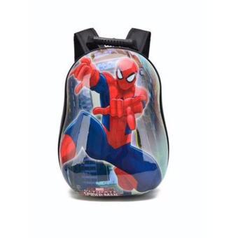 Balo trứng hình người nhện Spider man cho bé mẫu giáo