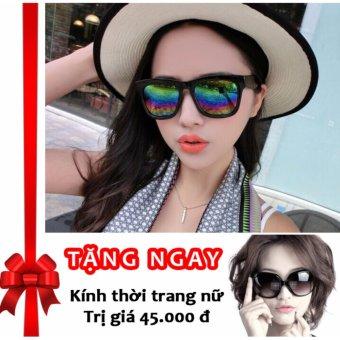 Siêu khuyến mãi mua 1 tặng 3 – Tặng 01 kính thời trang cao cấp và 02 bao da khi mua kính thời trang nữ phản quang cực Korea F146 (Đa màu sắc)