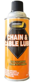 Chai xịt bảo dưỡng sên chống sét Johnsen Chain & Cable Lube