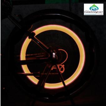 Đèn LED gắn van đổi màu cho bánh xe máy ô tô 206131-1A(vàng)