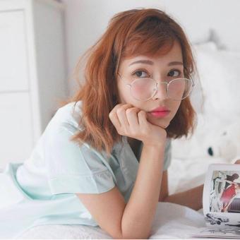 Mắt kính cận nữ ngố thời trang trẻ trung Hàn Quốc Urban Horizon FM0002 (Trắng)