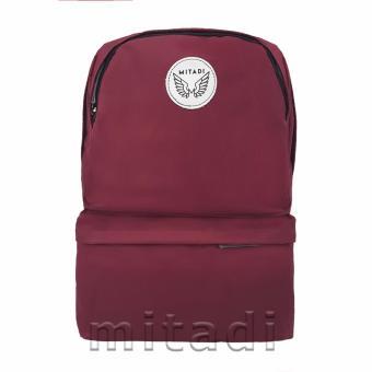 Balo Laptop Túi Hộp - MITADI 2017 - BC003 (Đỏ Đô)