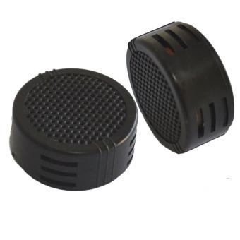 2 x 500 Watts Super Power Loud Dome Tweeter Speakers for Car 500W (Black)