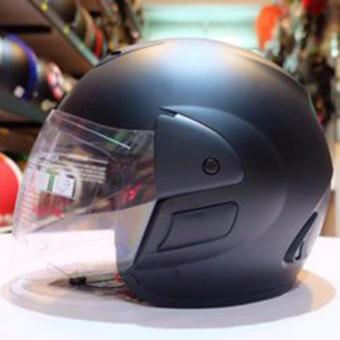 Mũ bảo hiểm Royal M01 (đen nhám kính trắng)