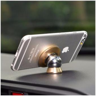 Trọn bộ hít nam châm giá đỡ điện thoại trên xe hơi, ô tô 360 độ in Logo