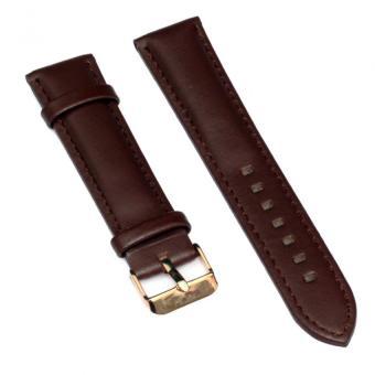 Dây da đồng hồ Wendy Size 20mm (Nâu VV)