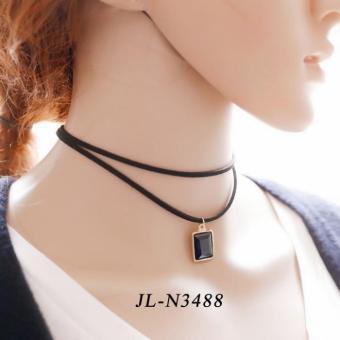 Vòng cổ Choker xinh xắn dễ thương JL-N3488(Đen)