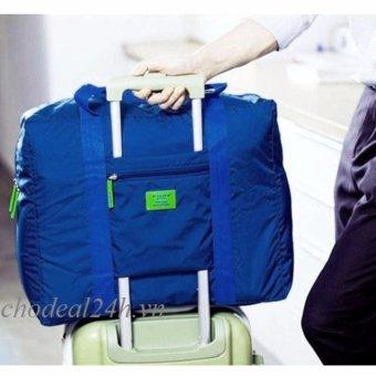 Mua Túi du lịch đa năng gắn vali kéo (Xanh đậm). giá tốt nhất