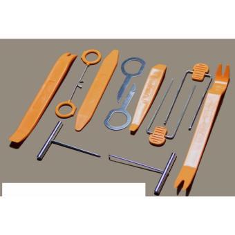 Bộ dụng cụ tháo đồ nhựa/nội thất ô tô NDSG (Bộ 12 món)