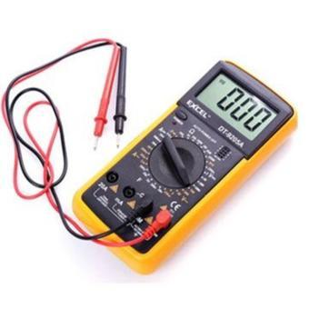 Đồng hồ đo vạn năng Digital Multimeter Excel (Đen phối vàng)