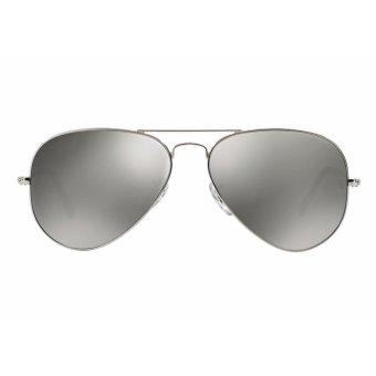 Mắt kính phi công chống chói Aviator Mirror Silver 2017 (Xám bạc)