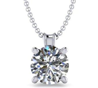 Mặt dây chuyền đá kim cương nhân tạo - MDC99