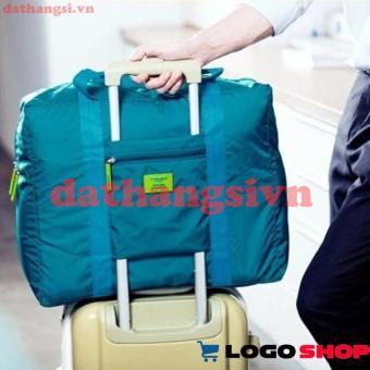 Túi du lịch đa năng gắn vali kéo (Xanh ngọc).