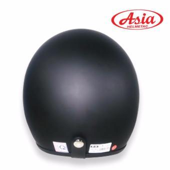Nón bảo hiểm 3/4 đầu Asia – Hàng phân phối chính hãng (Đen)