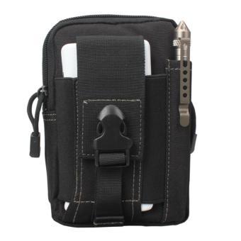 Túi đeo hông phong cách thể thao, tiện lợi đi du lịch N03 ( Đen )