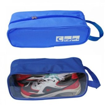 Bộ 2 túi đựng giày du lịch tiện dụng(Xanh dương)