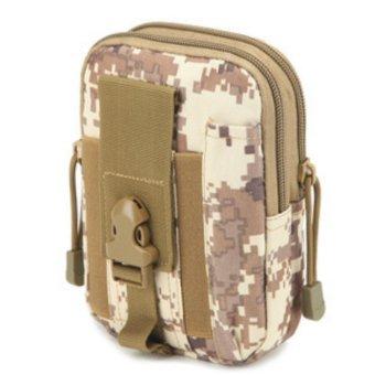 Túi đeo hông, thắt lưng đựng điện thoạ H03 (Nâu trắng).