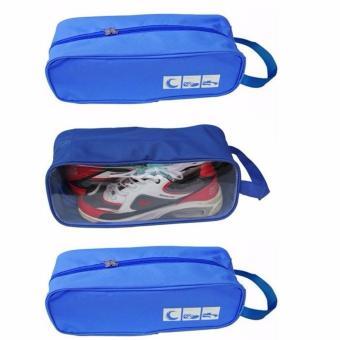Combo 3 Túi đựng giày thể thao tiện dụng (xanh dương)