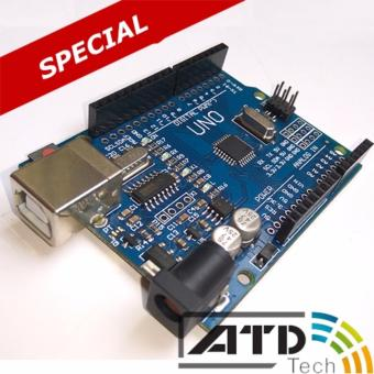 Arduino Uno R3 SMD (tặng hộp bảo vệ + Cáp USB)