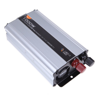 Car Truck DC 12V to AC 220V 1000W Power Inverter Charger Converter Adapter