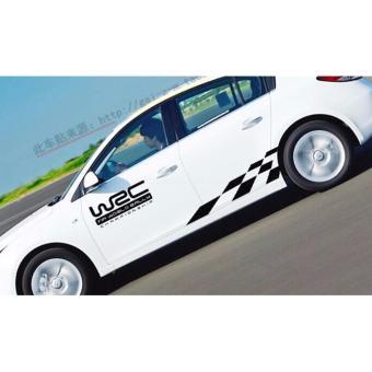 Bộ Decan WRC dán thân xe oto.