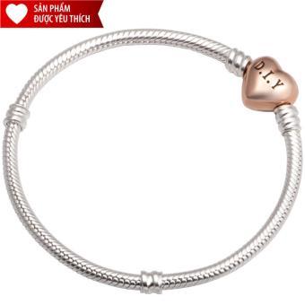 Lắc tay đeo charm bạc cao cấp PNJSilver