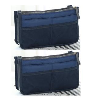Combo 2 Túi 13 ngăn đa năng tiện dụng (xanh đen)
