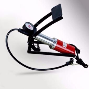 Bơm đạp chân ôtô-xe máy