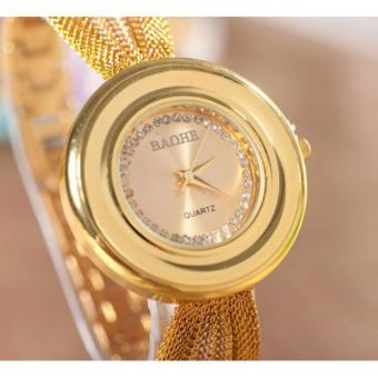 Đồng hồ nữ dây da BAOHE -BA001