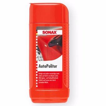 Kem đánh bóng nhanh sơn xe Sonax Auto Politur 300100 250ml