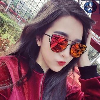 Kính nữ mắt mèo Sino red