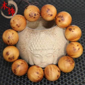 Vòng tay Phong thủy Hạt Tuia cực thơm 12 hạt 20mm