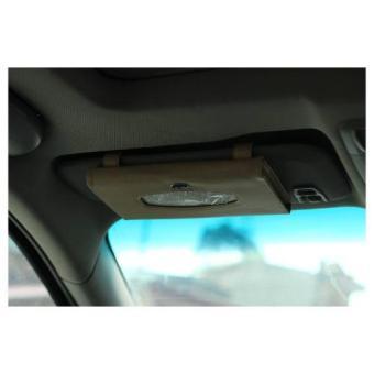 Hộp đựng khăn giấy kẹp trần có Logo hãng xe