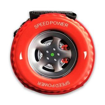 Ba lô hình bánh xe cho bé BL0095 (Đỏ)