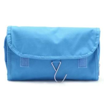Túi đựng đồ du lịch cá nhân có móc chống thấm (Xanh)