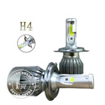 Bộ 2 đèn pha led Thanh Khang 3 chân H4-headlight 36w siêu sáng gắn xe máy và ô tô (Ánh sáng trắng)siêu phẩm chống nước