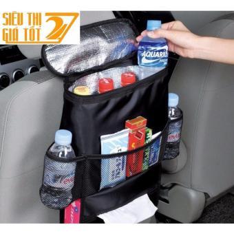Túi giữ nhiệt CAO CẤP để đồ Đa Năng gắn sau ghế oto, xe hơi