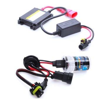 Bộ đèn xenon HID xe ôtô 35W 9005 (HB3) 4300K (Vàng trắng)