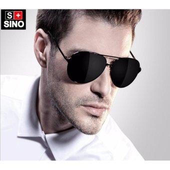 Kính mát nam thời trang Sino S2000 đen