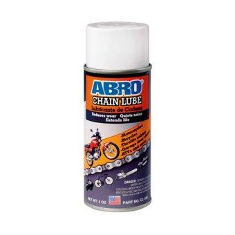 Chai xịt bão dưỡng bôi trơn sên xích xe máy Abro Chain Lube 200ml USA