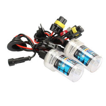 2pcs 55W H1 6000K Xenon HID Head Light Bulb Car Xenon Replacement Bulb (Intl)