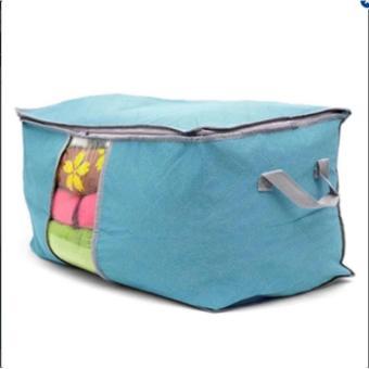 Túi đựng chăn màn, quần áo chông thấm tiện dụng (xanh dương)